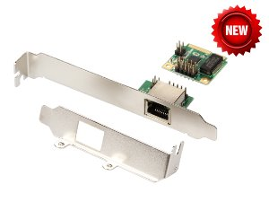 IO-mPCE8111-GLAN / Mini PCI-Express Gigabit Ethernet Adapter